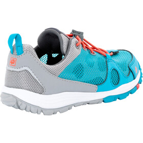 Jack Wolfskin Monterey Air Low - Chaussures Enfant - gris/turquoise